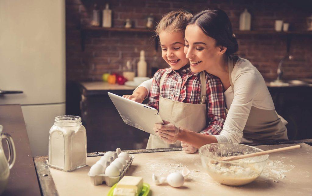 mama i kcer istrazuju recepte