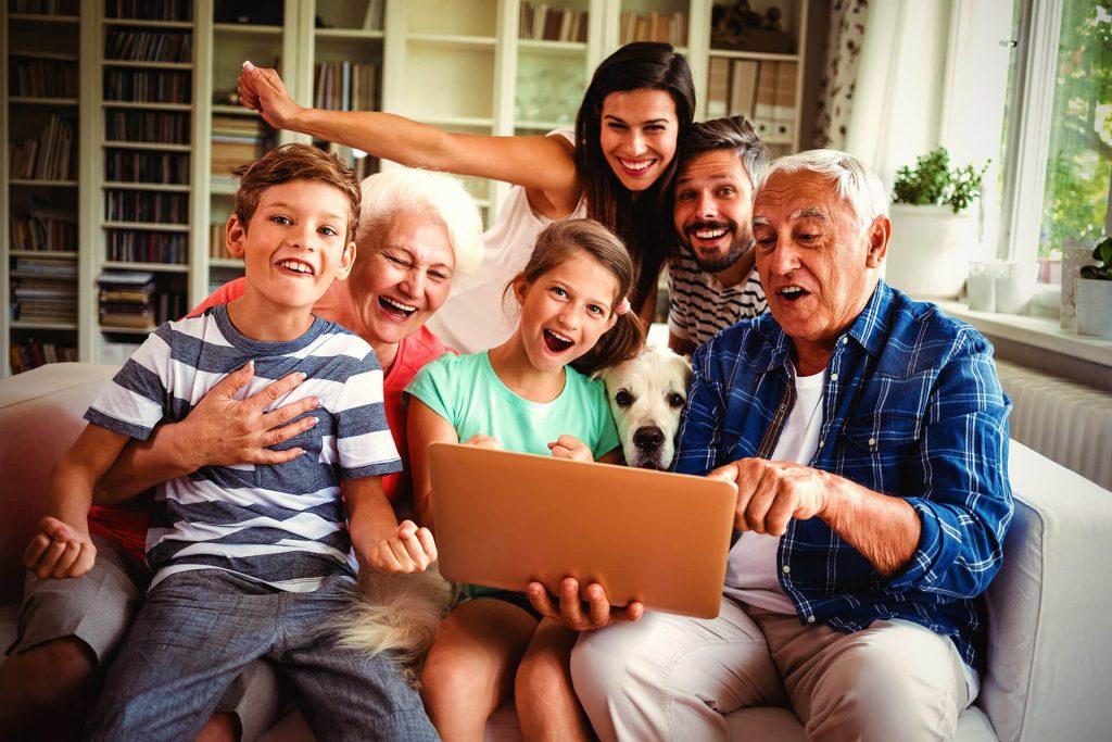 Obiteljsko druženje 3 generacije
