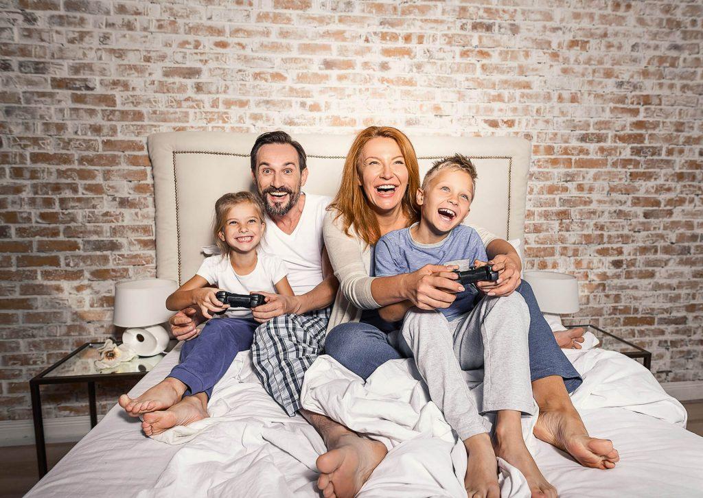 obitelj igra video igre
